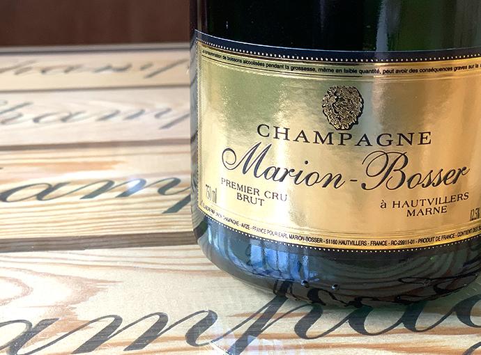 Champagne Marion Bosser Cuvée Millésime 2012 à Hautviller