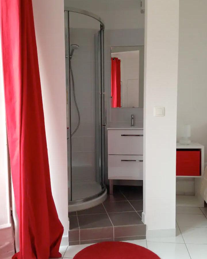 Salle de bain Gite Marion Bosser